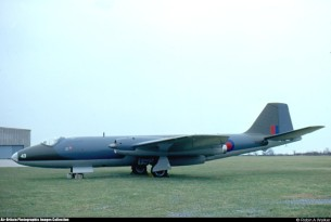 English Electric Canberra PR7